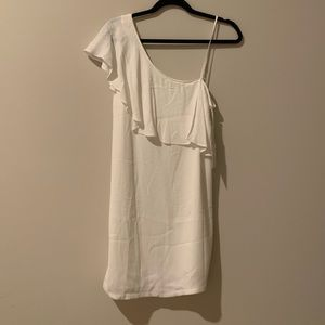 1 State white dress NWT